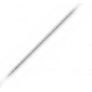 Slangehalskæde - 76 cm - tykkelse 1,6mm - extra lang