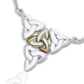 Halskæde med Triquetra - Treenighedssymbolet
