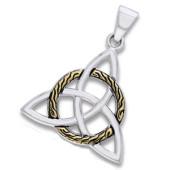 Vedhæng med Triquetra - Treenighedssymbolet - u/kæde