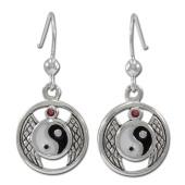 yin yang øreringe