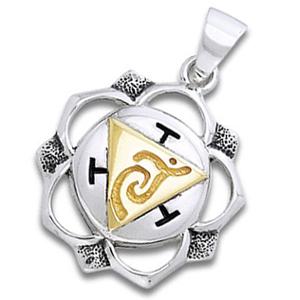 Chakra vedhæng 3 Chakra – Manipura – Solar plexuschakraet – u/kæde – pris 259.00