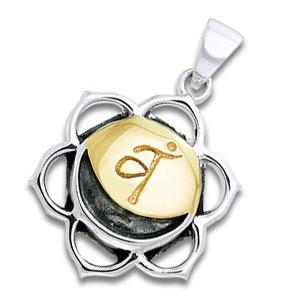 Image of   Chakra vedhæng 2 Chakra - Svadhishthanaa - Harachakraet - u/kæde