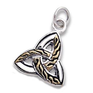 Vedhæng med Triquetra – Treenighedssymbolet – u/kæde – pris 189.00