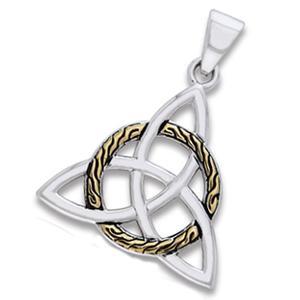 Vedhæng med Triquetra – Treenighedssymbolet – u/kæde – pris 369.00