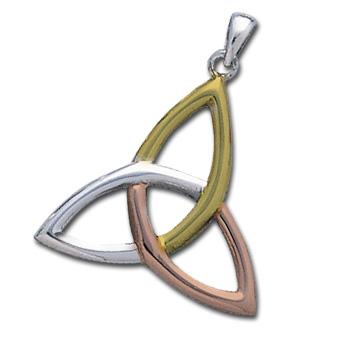 Vedhæng med Triquetra – Treenighedssymbolet – u/kæde – pris 519.00