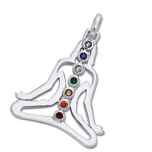 Chakra vedhæng - Buddha - u/kæde