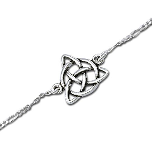 Image of   Ankelkæde med Treenighedssymbolet - 20.50cm