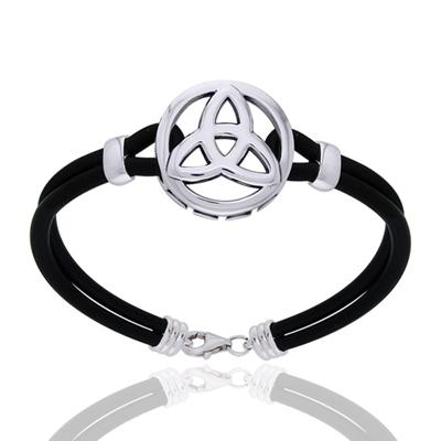 Armbånd med Triquetra – Treenighedssymbolet – 21cm – pris 530.00