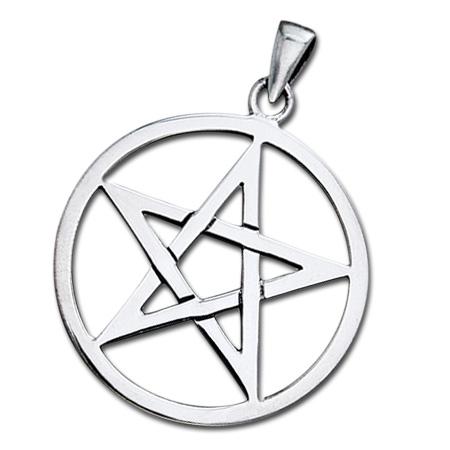 Vedhæng med Pentagram – u/kæde – pris 199.00