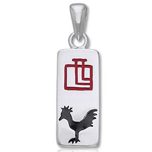 Vedhæng – Hanen – Kinesisk stjernetegn – u/kæde – pris 139.00