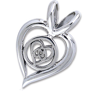 Vedhæng Hjerte – u/kæde – pris 139.00