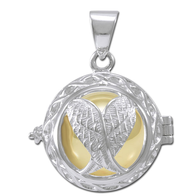 Engleklokke / Harmony ball med Englevinger – u/kæde – pris 369.00